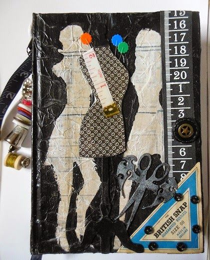 Altered Book Journal - Ngaere