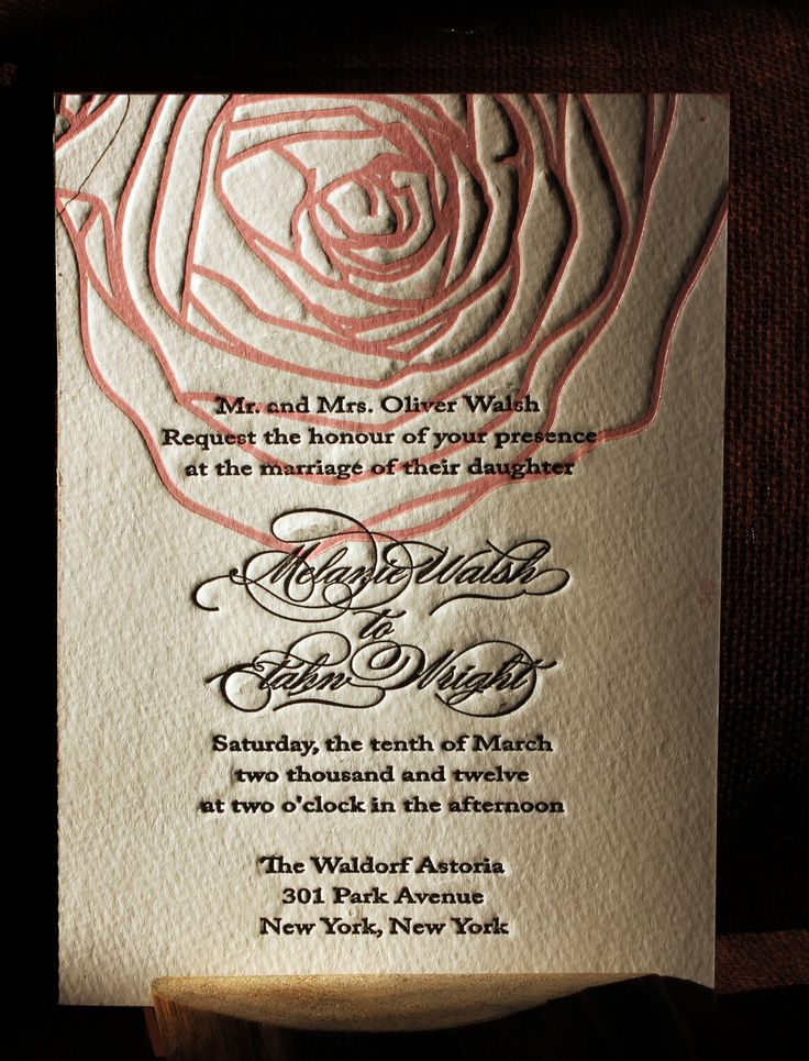 Like the simplicity: Color, Wedding Invitations, Rose Letterpresses, Invitations Rose, Rose Wedding, Invitations Ideas, Cool Ideas, Bat Mitzvah Invitations, Bats Mitzvah Invitations