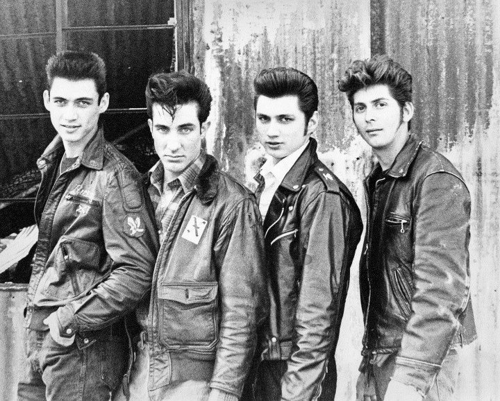 Razvatuggia. The early years...#The Paladins Great Cali rockabilly band.