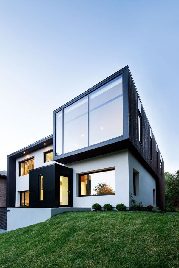 Striking home renovation in Montreal: Connaught Residence