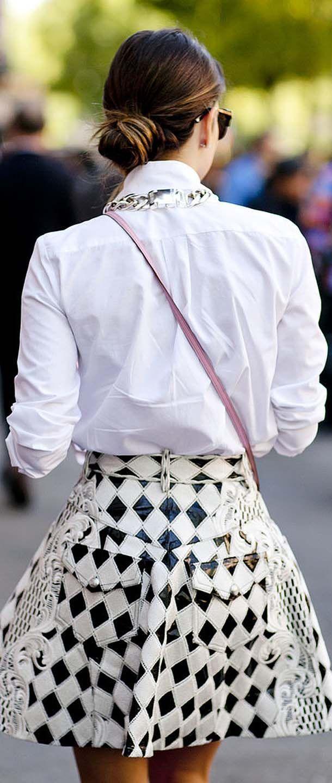 Olivia Palermo Monochrome Street Style