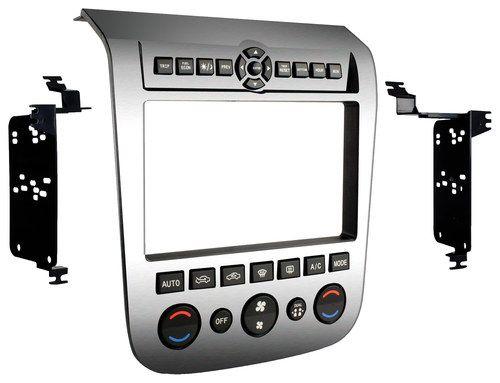 Metra - Dash Kit for Select 2003-2007 Nissan Murano with brushed aluminium dash - Aluminum (Silver)
