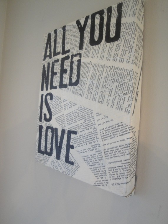 DIY this... // just bought a bunch of canvasses that i can collage and do this to!!!