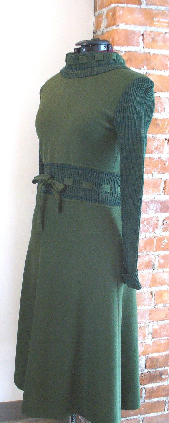Vintage Avagolf per Loewe Made in Italy Knit Dress