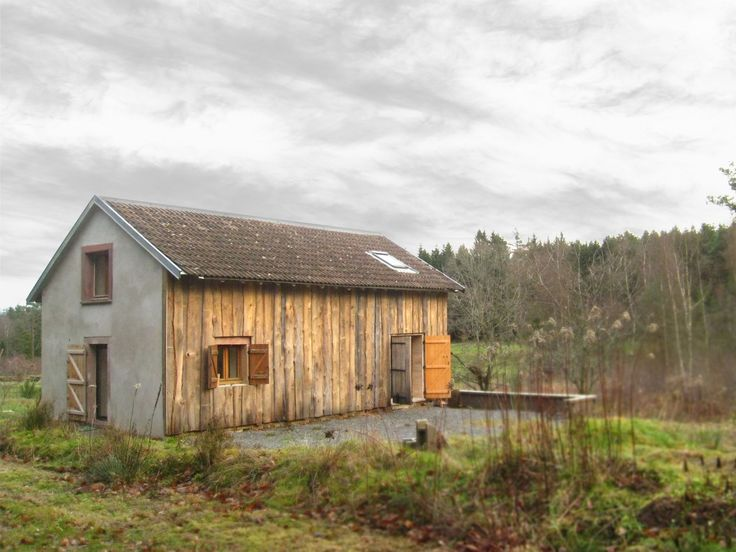 La Roubière /Atelier Stanislas CLAUDE Architecture / Saint-Rémi, Vosges #refurbishment #barn #small #wood #cladding #bardage
