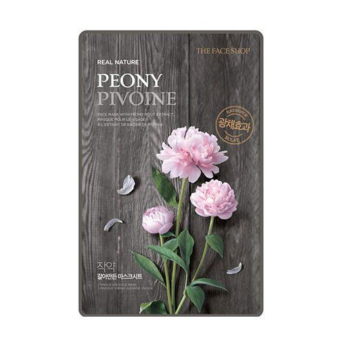 [THE FACE SHOP] Real Nature Peony (5PCS)