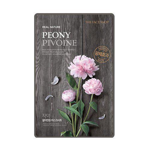 [THE FACE SHOP] Real Nature Peony (5PCS)