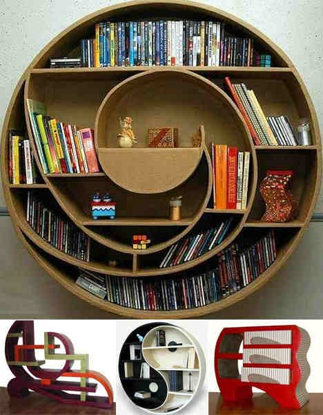 122 best Book Shelf Ideas images on Pinterest