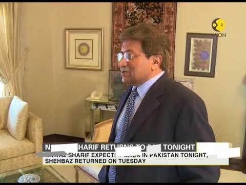 #news#WorldNewsWION News: Nawaz Sharif returns to Pakistan tonight
