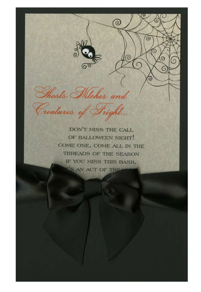 invitation letter for judging an event%0A Halloween invite