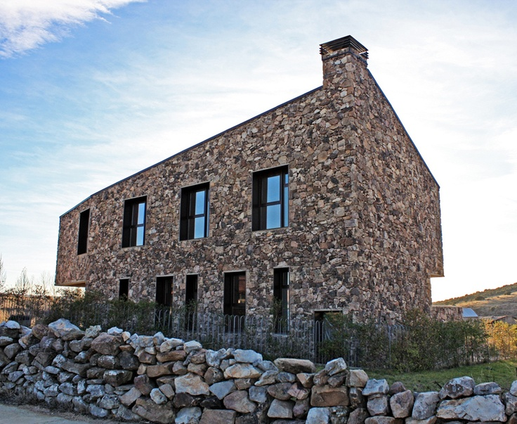 aq4 Arquitectura    Casa Rural Sestiles (Dombellas, España)