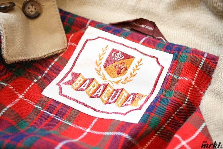 """Vintage Baracuta G-9 """"Harrington"""" Jacket"""