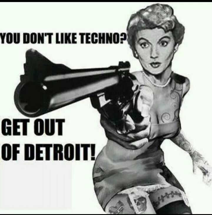 Detroit techno lovers