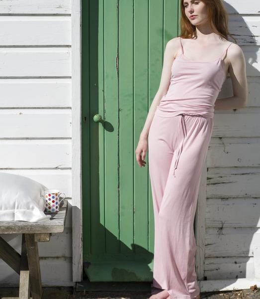 SILKBODY   Silkspun Lounge Pants in Shell Pink $180