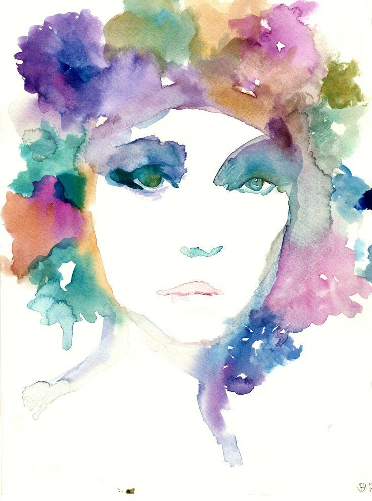 Francessca by Jessica Buhman Print of Original by ArtbyJessBuhman, $24.95