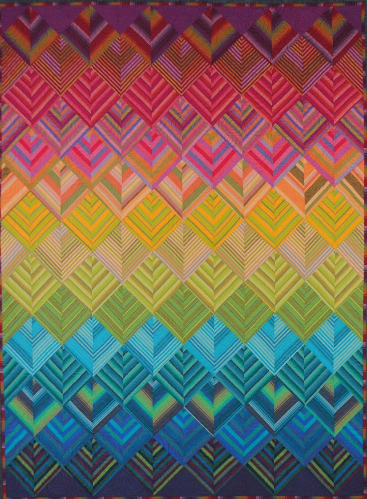 360 best Quilts - Stripes and Strips images on Pinterest | Quilt ... : rainbow quilt shop - Adamdwight.com