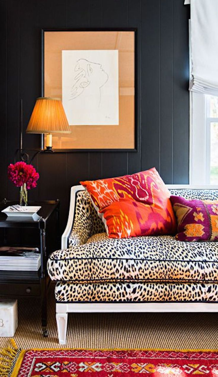 Leopard Print Bedroom 17 Best Ideas About Cheetah Print Walls On Pinterest Black