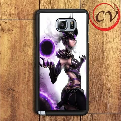 Syndra Sexy Girl League Of Legend Samsung Galaxy Note 5 Case