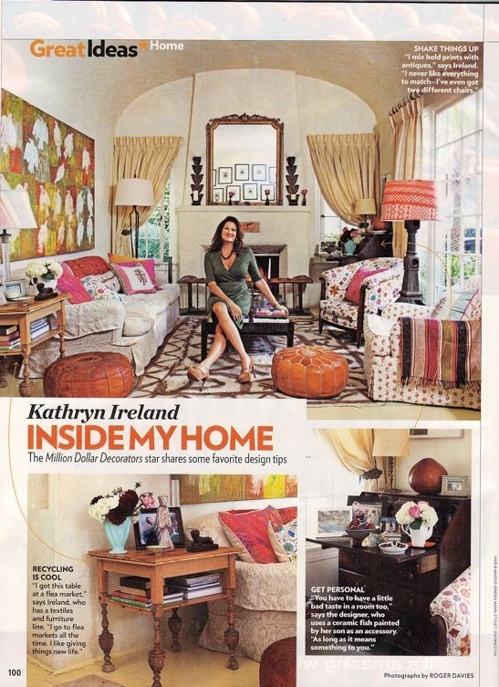 Kathryn Ireland In People Magazine
