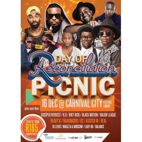 Day of Reconciliation Picnic at Carnival City - 16 Dec 2015 JHB