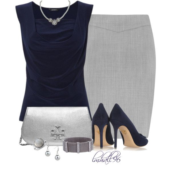 """Grey and Blue"" by lmhall96 on Polyvore"