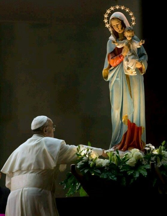 Pope Francis loves Our Lady.
