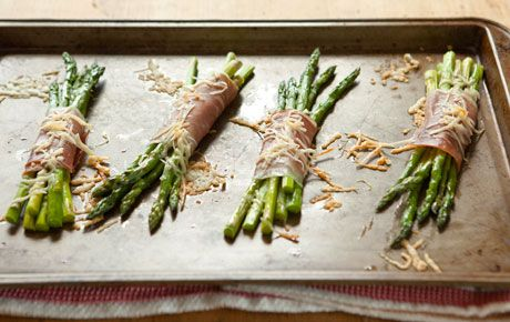 Proscuitto wrapped Asparagus- delicious!