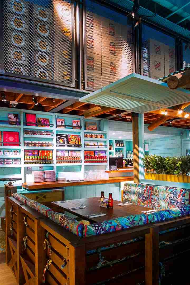 Levi Roots Caribbean Smokehouse Interior In 2019 Modern