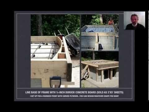 Detailed How to Build an Authentic Pompeii Pizza Oven, Part 1 of 4 - YouTube