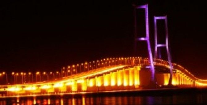 Suramadu Bridge of indonesia