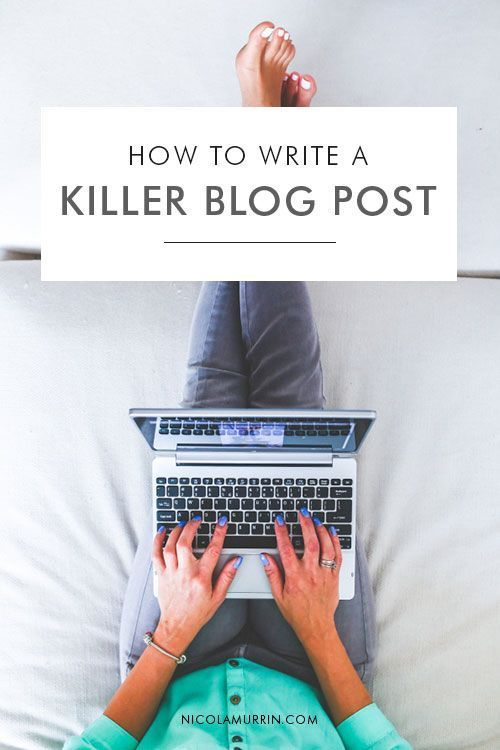 How To Write A Killer Blog Post   Do you find it hard to come up with original, valuable content on the reg? Or do you struggle writing your blog posts because you don't know how to start or get your ideas out? Well with these strategies and practices, coming up with content and writing great blog posts can be easy and fun!