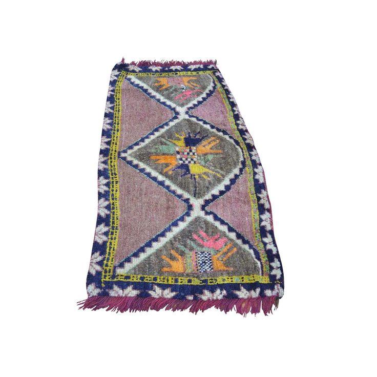 1800getarug Refurbished Semi Antique Tribal Bag Face Shiraz Pure Handmade Rug