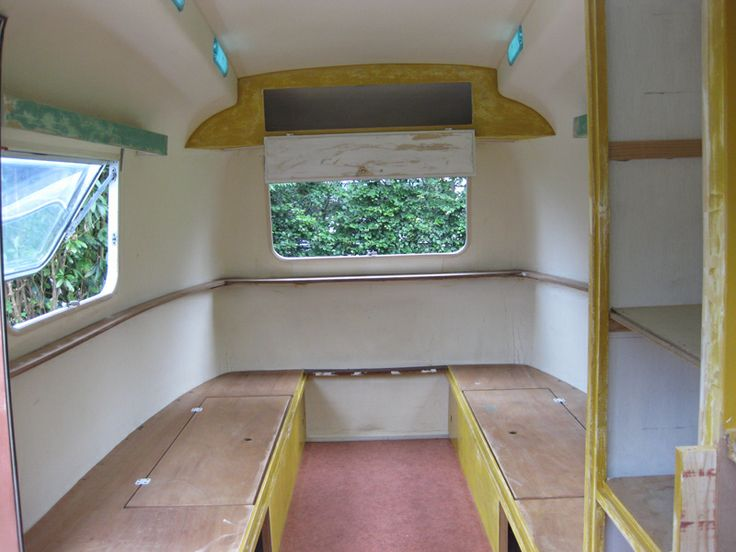 Vintage Biod Bambi 2L camper / caravan restoration / refurbishing - UNDER CONSTRUCTION