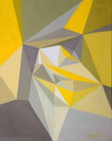 "Saatchi Art Artist Malvina - Carola Liuba; Painting, ""Core Structure 1"" #art"