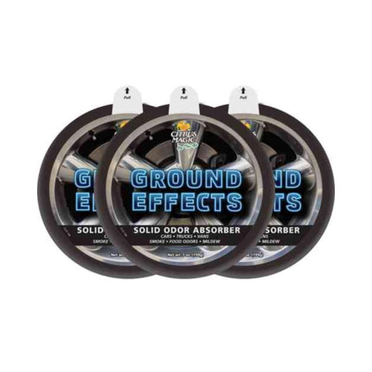 On The Go 7 oz. Ground Effects Solid Odor Absorbing Air Freshener (3-Pack)