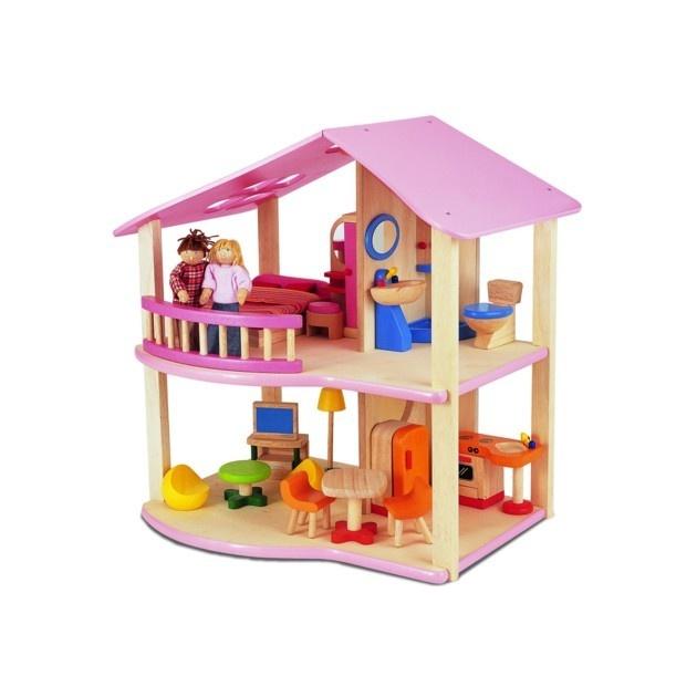 17 beste afbeeldingen over poppenhuizen op pinterest toiletten modellen en chique - Roze meid slaapkamer ...
