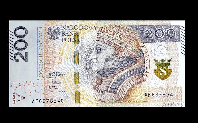 Zdjęcia HD, UHD, 4K: Banknot 200 zł, Król Zygmunt I Stary, Narodowy Ban...