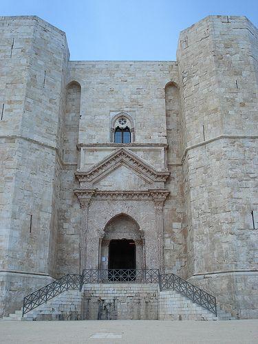 Castel del Monte Entrance - Castel del Monte, Puglia, Italy.