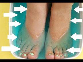 Ayaklarınızı Gargara Suyunda 15-20 Dakika Bekletirseniz... - YouTube