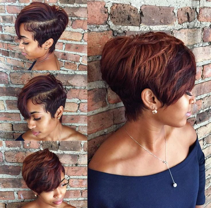 Gorgeous cut and color by @stylesbykim__  Read the article here - http://www.blackhairinformation.com/hairstyle-gallery/gorgeous-cut-color-stylesbykim__/