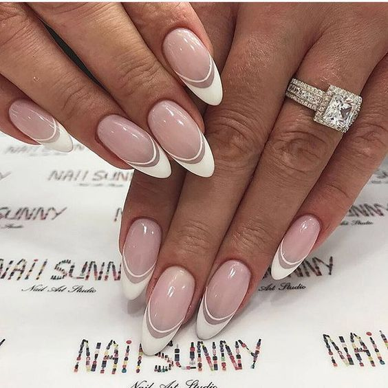 Wedding Nails – TOP 30 Amazing Inspirations for a Beautiful Manicure for Pa … – Schlicht