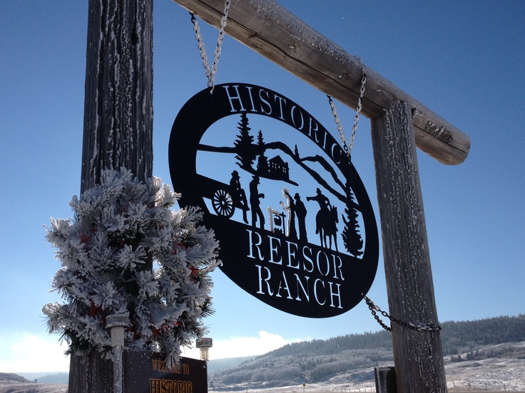 Join us for some 'Cowboy comfort' at the Historic Reesor Ranch