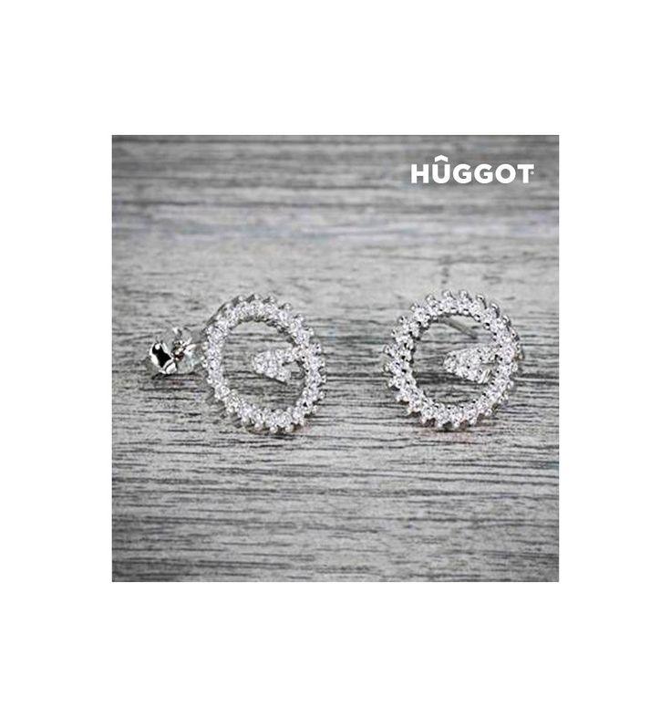 Découvrez Boucles d'oreilles en Argent Massif 925 et Zirconites Winner Hûggot de la nouvelle collection de bijoux fantaisie Hûggot ! Une large gamme de bagues, bracelets, boucles d'oreilles, colli...