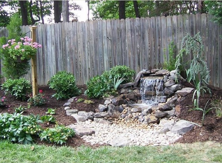 Pondless Backyard Waterfall Pictures | Pondless Waterfall In Richmond.