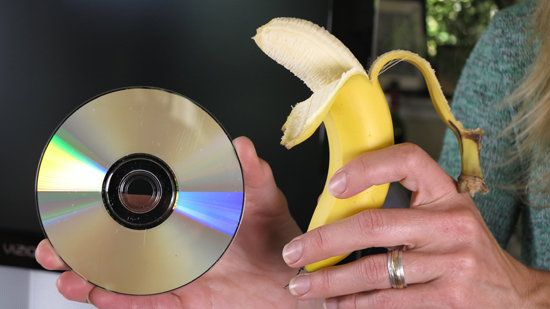 Can You Fix a Scratched DVD with a Banana? | Upgrade Your Life - Yahoo! News