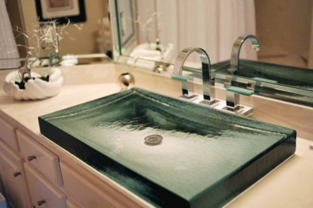 77 best images about bathroom ideas on pinterest copper Cool bathroom sink faucets