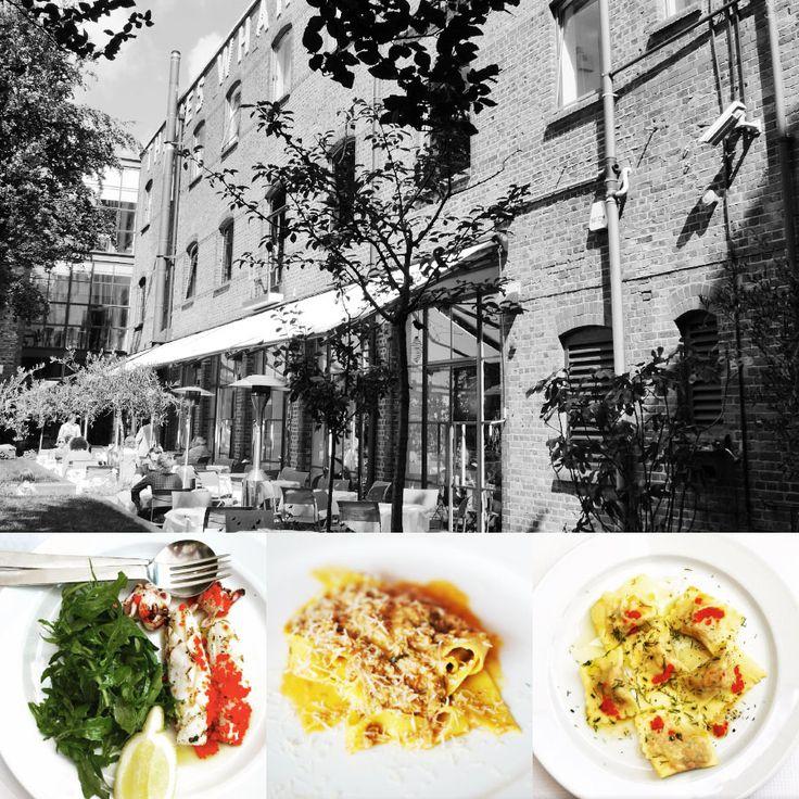 1 star - Restaurant River Cafe - London #italianfood #italianchef #italianrestaurant www.100ITA.com