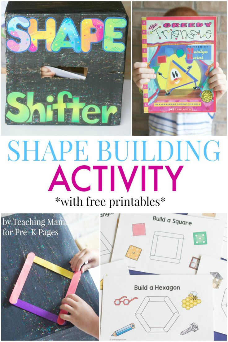 Worksheet Preschool Basic Skills 1000 images about preschool basic skills on pinterest shape the perfect activity to go along with book greedy triangle in your pre k or kindergarten classroom help k