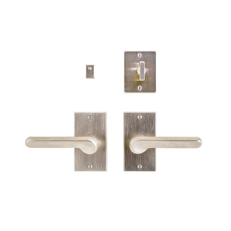 Metro Privacy Set   2 X 4 Privacy Mortise Bolt / Spring Latch