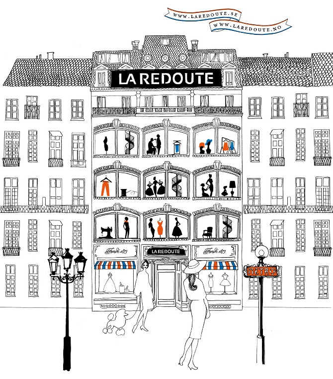 La Redoute - maria kask graphic designer & illustrator